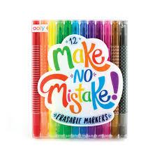 Make No Mistake Erasable Markers Set Of 12 Sophia Markers