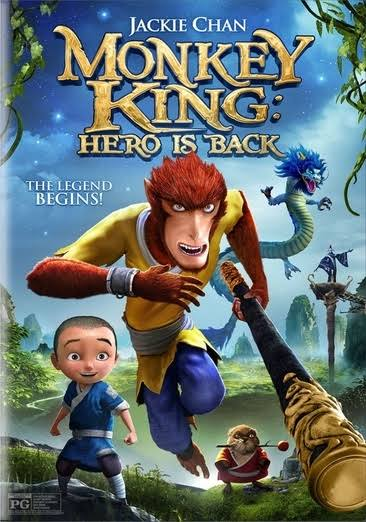 Monkey King: The Hero is Back (2016) DVD