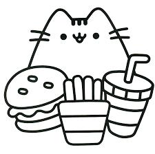 Pusheen Coloring Book The Cat