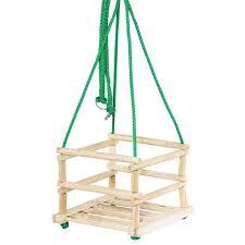 siege balancoire enfant balançoire pour bébé siège en bois enfant brut prix pas cher