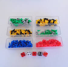 RISK Board Game Replacement Tokens Original Cases