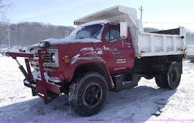 100 Single Axle Dump Trucks For Sale 1989 Chevrolet Kodiak 70 Single Axle Dump Truck Item 5480