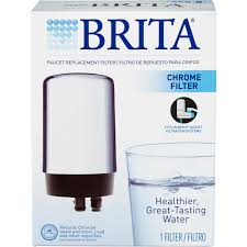 Pur Water Filter Faucet Adapter by Clorox Sales Co Brita 42617 Chrome Faucet Mount Filter Walmart Com