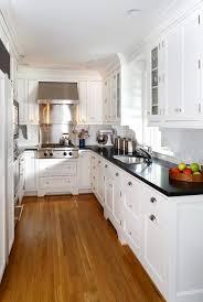 Small White Kitchen Design Ideas by Best 25 White Galley Kitchens Ideas On Pinterest Rubber