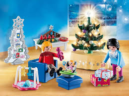 playmobil 9495 spielzeug weihnachtliches wohnzimmer