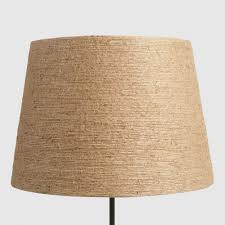 Diy Punched Tin Lamp Shade by Twine Wrapped Table Lamp Shade World Market