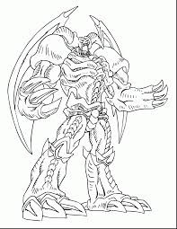 Fantastic Yu Gi Oh Coloring Pages To Print With Yugioh And Monster