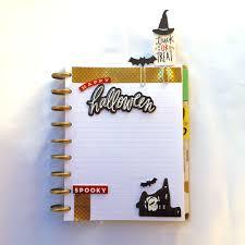 Halloween Washi Tape Ideas by The Happy Planner Diy Halloween Page Markers U2014 Me U0026 My Big Ideas