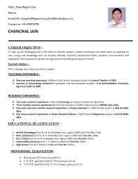 Marvelous Resume For Teaching Position Template Sample Applying Job In India Best Teachers Cv Whether You Are