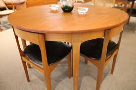 Nathan (England) Teak Dining Table And 4 Chairs (48