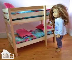 Free Instructions For Bunk Beds by Best 25 Doll Bunk Beds Ideas On Pinterest American Beds