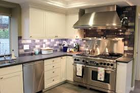 purple subway tile houzz