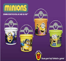 Mcdonalds Halloween Buckets by Happy Meal Toys Minions Trick Or Treat Pails The Toy Locker
