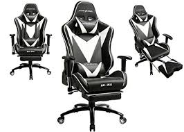 Reclining Gaming Chair With Footrest by Gtracing Ergonomic Gaming Chair High Back Swivel Computer Office
