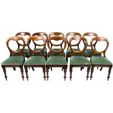 Antique Set Of Ten Victorian Balloon Back Dining Chairs ... Antique Victorian Ref No 03505 Regent Antiques Set Of Ten Mahogany Balloon Back Ding Chairs 6 Walnut Eight 62 Style Ebay Finely Carved Quality Four C1845 Reproduction Balloon Back Ding Chairs Fiddleback Style Table And In Traditional Living Living Room Upholstery 8 Upholstered Lloonback Antique French