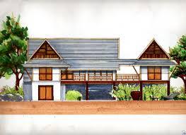 100 Thai Modern House Interior Design Design Land