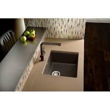 Blanco Precis Sink Cinder by B519049 Precis White Color Undermount Single Bowl Kitchen Sink