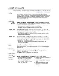 Sample Profile For Resume Example Of On Template Examples Entry
