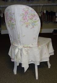 Shabby Chic Dining Room Chair Covers by Shabby Slipcovered Chair Shabby Pastels Pinterest Shabby