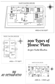 100 Free Vastu Home Plans 200 Types Of House As Per Shastra An Ebook By AS Sethu Pathi