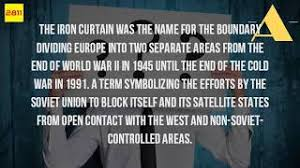 Winston Churchill Delivers Iron Curtain Speech Definition by Churchill Used The Term Iron Curtain To Describe Vapify