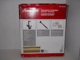 18 Gauge Floor Nailer Ebay by Husky Pneumatic Flooring Nailer And Stapler T And L Cleat Hdufl50
