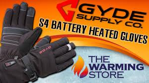 gyde s4 battery heated gloves youtube