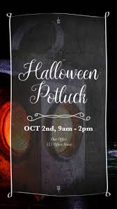 Halloween Potluck Invitation Templates by Free Text Message Invitations For Halloween Events