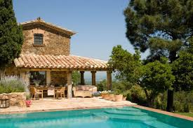 Mediterranean Guest House Plans