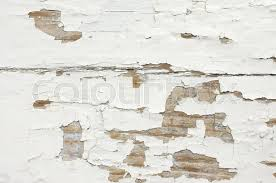 Extreme Distressed Peeling White Painted Wood Texture Close Up As Background