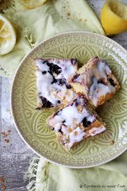 zitronen blaubeer kuchen