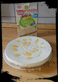dr oetker lemon american style cheese cake zuckerwelt im test