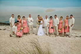 Emejing Beach Wedding Party Attire Pictures