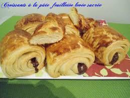 pains au chocolat à la pâte feuilletée levée sucrée chhiwateskhadija