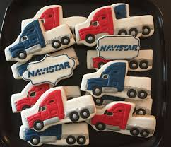 Semi Truck Cookies #semitrucks #semitruckcookies #18wheelercookies ...