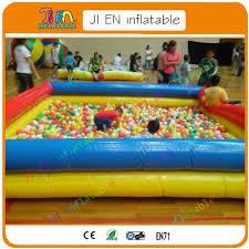 piscine a balle gonflable livraison gratuite coloré couche gonflable piscine à balles