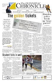 Spirit Halloween Hamden Ct by The Quinnipiac Chronicle Issue 11 Volume 83 By The Quinnipiac