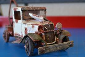 Pro Built 1934 34 Ford Pickup Tow Truck Weathered Rusted Adult ... 1934 Arcade Ford Tow Truck Wrecker Cast Iron Antique Toy 1957 And 1962 Antioch Il Ebay Ewillys Estate Cleanout Chevy Rigs Hudson Hornet Bangshiftcom 1949 T6 Matchbox 13 13d Dodge Wreck Truck Police Tow Custom Code 3 Tamiya Military Model 148 German 6 X 4 Towing Kfz69 With 37 Welly 1956 F100 Green Cream Rainbow Road Service Bustalk View Topic 1939 Gmc Triboro Coach Wreckertow For Ebay Trucks Lovely Scrap Metal Art New Cars And 1958 White Cabover Rollback Custom 2008 Hino 238