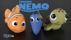 Finding Nemo Baby Bath Set by Finding Nemo Bath Toys From Tomy Youtube