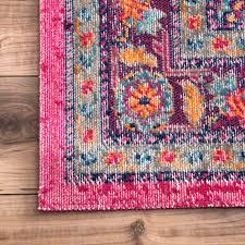 Cool Hot Pink area Rug 50 s
