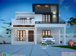 100 New Modern Home Design 1580 Sqft 3 Bedroom Modern Home Plan Architecture Kerala Home