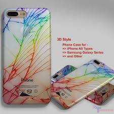 Cracked Out Broken Galaxy Personalized iPhone 7 Case iPhone 6