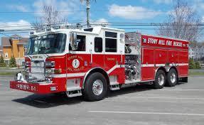 100 Truck Rental Santa Cruz Apparatus Stony Hill Volunteer Fire Department Bethel CT