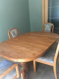 FREE Dining Room Table Chairs And Hutch