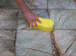 sealing tile grout methods for clean maintained tile