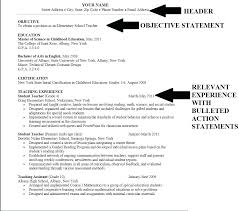 Objective In A Resume Teaching Best