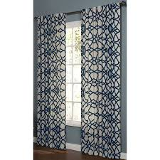 Shop allen roth 95 in L Navy Oberlin Curtain Panel at Lowes