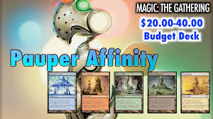 artifact deck mtg 2017 mtg ready to bootup in pauper the 20 40 affinity deck for