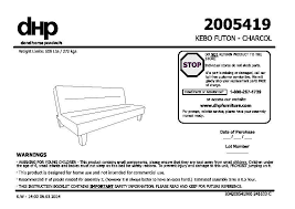 kebo futon sofa bed instructions nrtradiant com