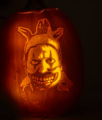 Scary Clown Pumpkin Stencils Free by Free Pumpkin Carving Patterns Pumpkin Craze Gears Of War For